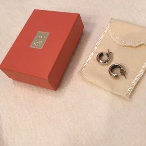 James Avery small hoop earrings